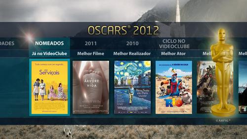 "MEO Interativo – Widget ""OSCARS® 2012"""