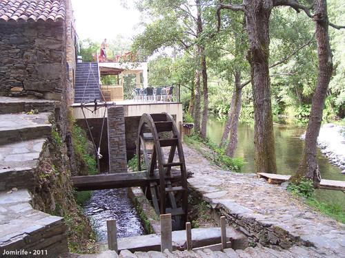 Vila de Góis - Praia fluvial: Moinho de água