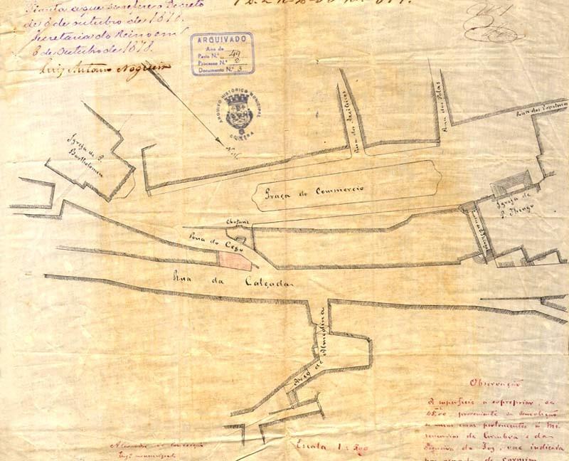 Fig. 07. Praça do Comércio. [AHMC. Repartição