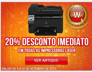 20% Impressora Laser