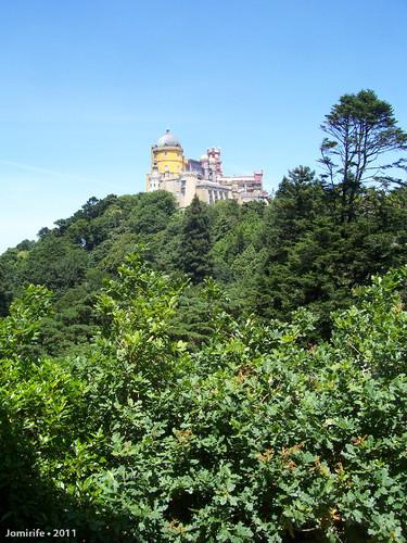 Sintra: Palácio da Pena - Visto de longe