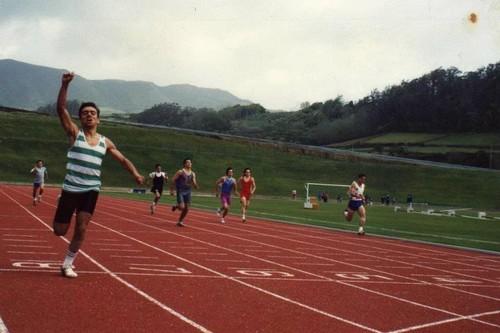 200m no Regional de Juvenis de 1992...