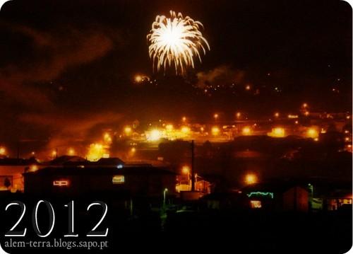 1 de janeiro de 2012 Vale de Cambra, fogo de artificio em Sandiaes_1