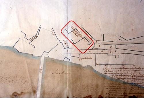 Fig. 2 - Localização do Colégio de Santo Antón