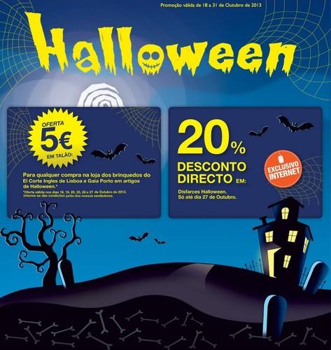 5€ ou 20% direto | EL CORTE INGLÉS | Halloween