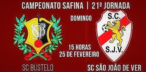 Cartaz Seniores Bustelo vs SJVer