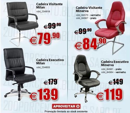 Super Preços | STAPLES | Cadeiras até 21 janeiro