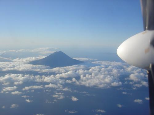 Pico acima das nuvens