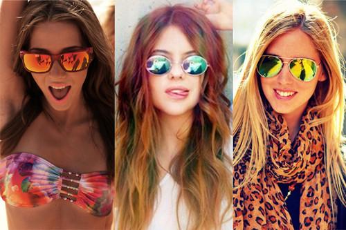4b5ca534e E estes óculos de sol não só chegam em grande como em vários formatos e  cores.