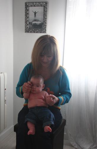 Luca bebé e Vovó Tiló