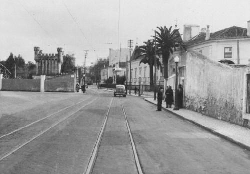 Estrada de Benfica, Palhavã (F.M. da Costa, s.d.)
