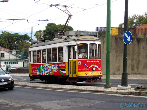 Lisboa - Eléctrico da Ajuda (2) [en] Lisbon - Electric train of Ajuda