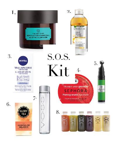 ina, ina the blog, blogger, sos kit, skin care