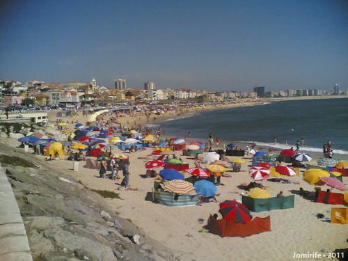 Praia de Buarcos no último dia de Julho/2011