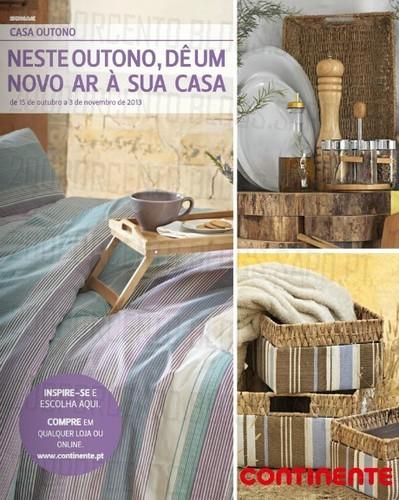 Novo Folheto | CONTINENTE | Casa Outono, de 15 Outubro a 3 Novembro