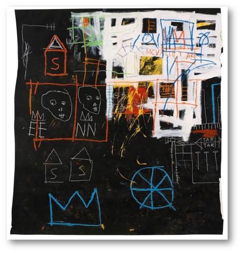 jean-michel basquiat (1960-1988), intitled, 1981a.