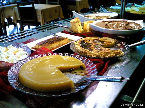 Restaurante «A Grelha» Pratos: Sobremesas