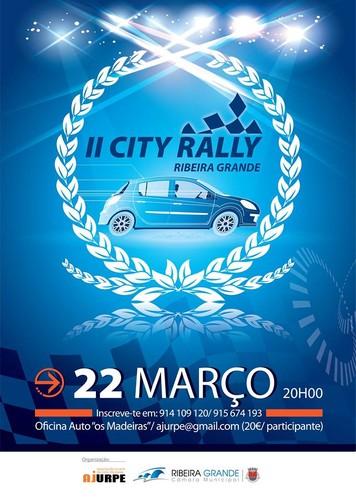 Segunda edição do City Rally, na Ribeira Grande...