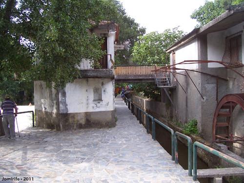 Vila de Góis - Praia fluvial: Casas