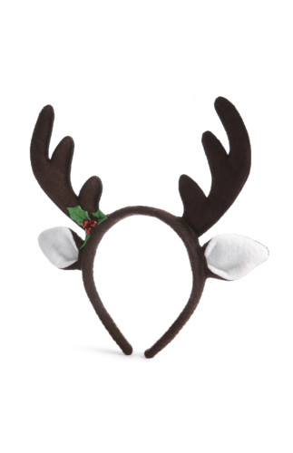 Kimball-7532404-XMAS REINDEER HAIRBAND BROWN, ROI