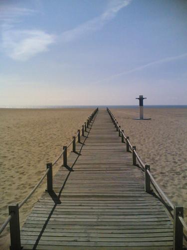 Passadeira até à praia
