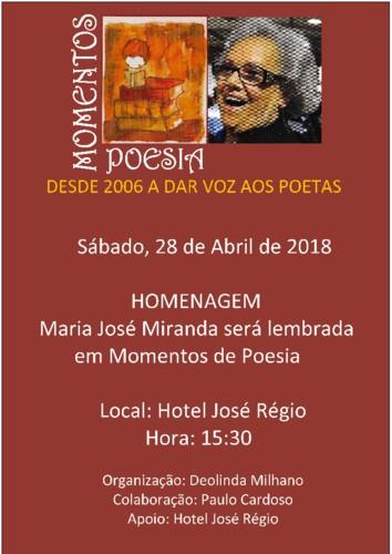"""Cartaz de Organização """"Momentos de Poesia"""". 2018. jpg"""