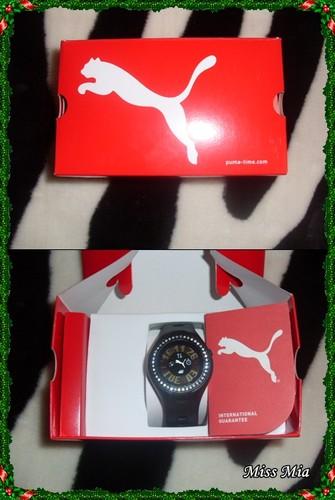 Relógio Touch Puma