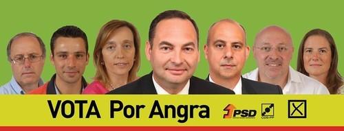 Vota Por Angra. Viva Angra. Angra com vida.