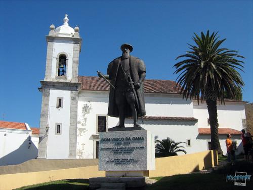 Vila de Sines (5) Estátua Dom Vasco da Gama