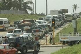 Transito na cidade de Maputo