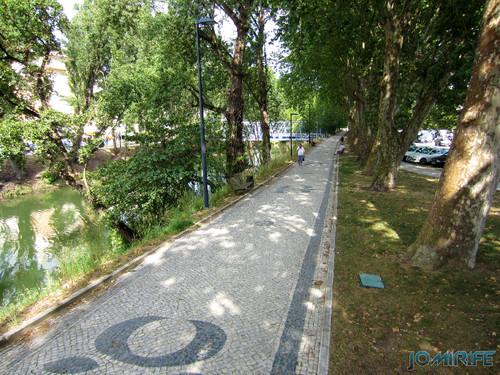 Jardim do Polis Leiria (Oeste) - Calçada [en] Polis Garden of Leiria, Portugal