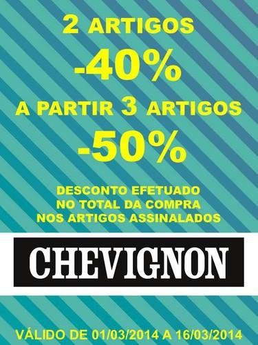 Promoções | FREEPORT | Chevignon e  Jerem