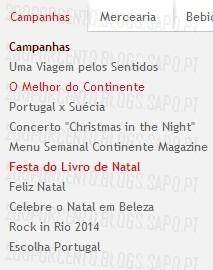 Novas Promoções   CONTINENTE   Festa do Livro de Natal