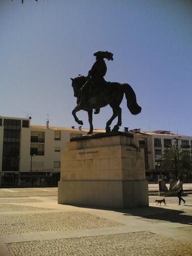Cantanhede: Estátua equestre Marquês Marialva