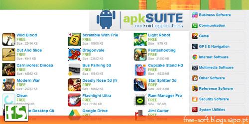 Aplicações ANDROID gratuitas - Android Market