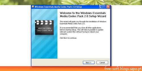 Codecs para todos os vídeos no Windows Media Player