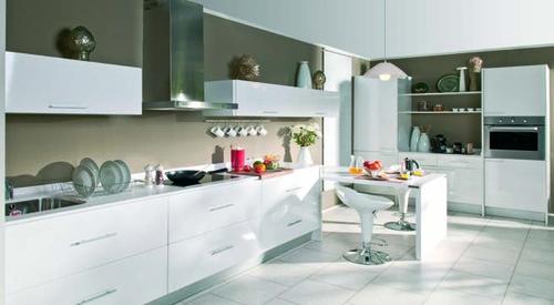 Cozinhas em preto e branco decora o e ideias for Muebles auxiliares de cocina conforama
