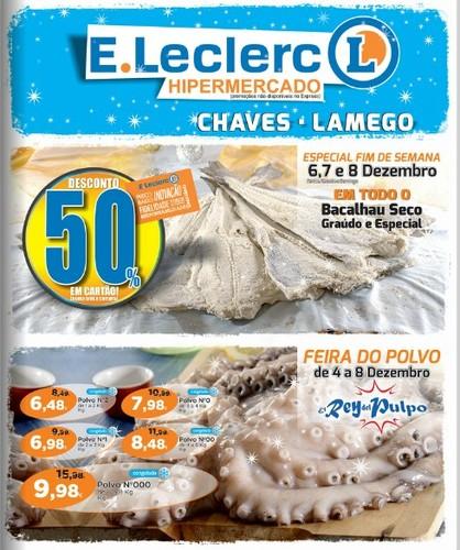 Antevisão Folheto | E-LECLERC | Chaves e Lamego
