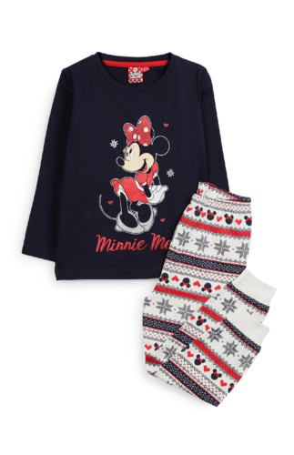 Kimball-59043(MISSING)-2G NAVY MINNIE MOUSE PJ, GR