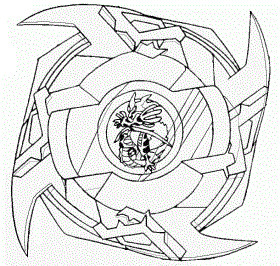 beyblade coloring pages ldrago - photo#25