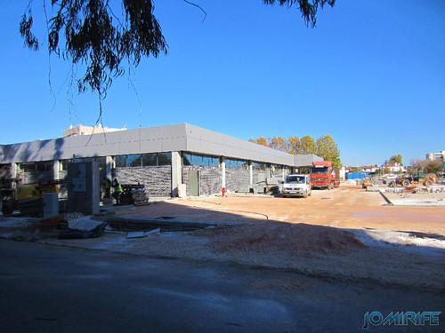 Construção do Supermercado ALDI na Marinha Grande - Lateral [en] Construction of ALDI Supermarket in Marinha Grande, Leiria, Portugal
