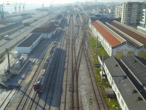 Linhas de comboio da Figueira da Foz