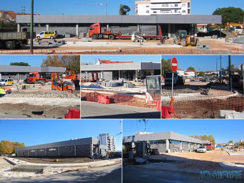 Construção do Supermercado ALDI na Marinha Grande [en] Construction of ALDI Supermarket in Marinha Grande, Leiria, Portugal