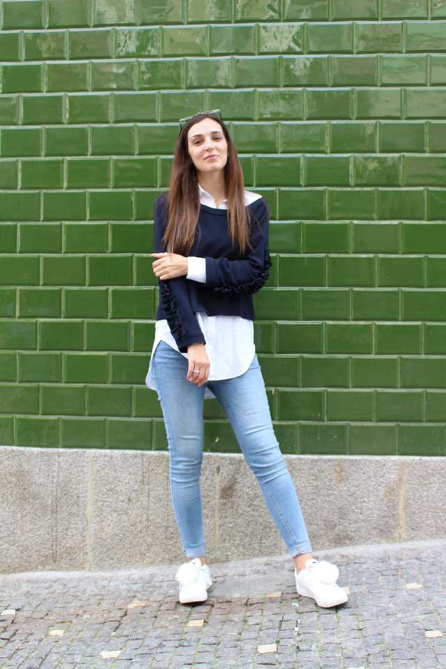 ina, ina the blog, fluffy sneakers, diy, fashion blogger, catarina soares