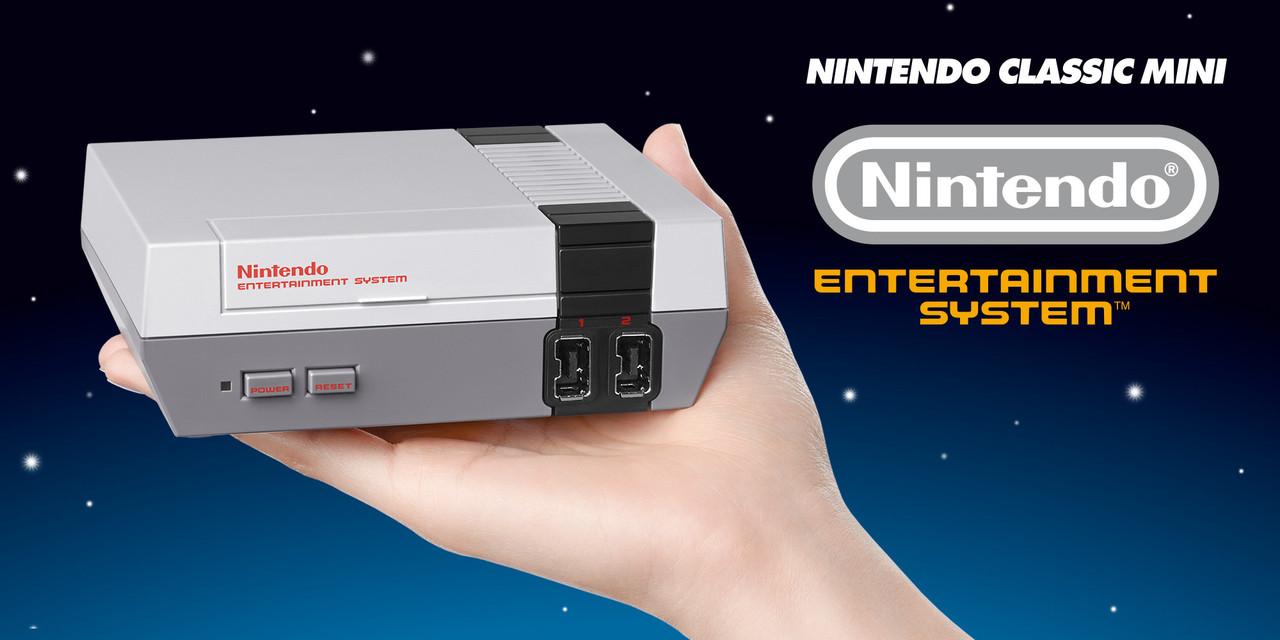 Imagem da Nintendo Classic Mini NES
