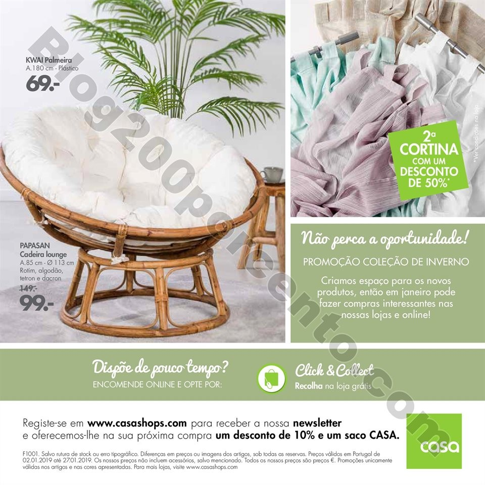 Antevisão Folheto CASA promoções de 2 a 27 jane
