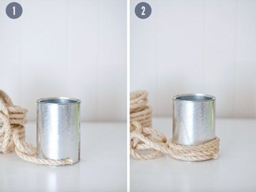 Do It Yourself | vaso de corda