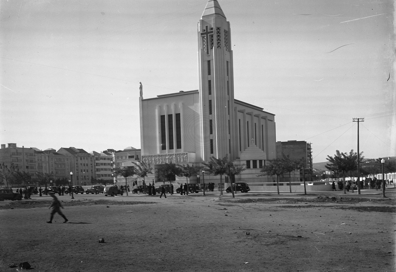 Igreja de Nossa Senhora de Fátima, 1938, foto Cas