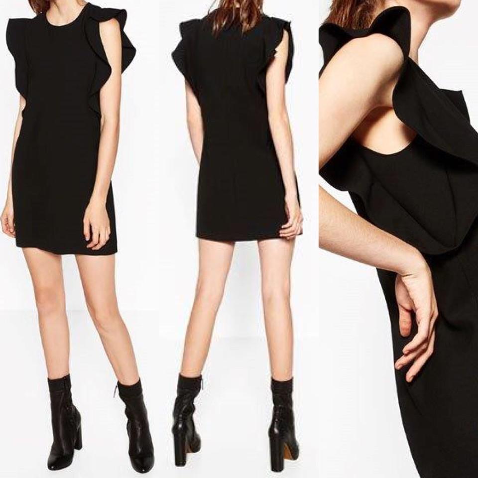 WEEKEND PLEASURE | vestido preto com folhos