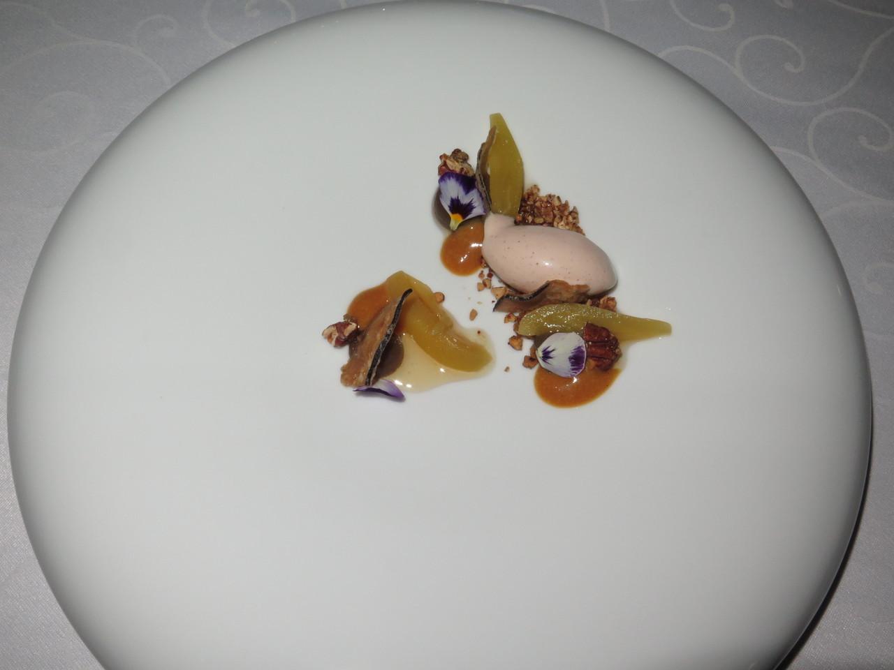 Beringela, Caramelo, Nozes Pecan